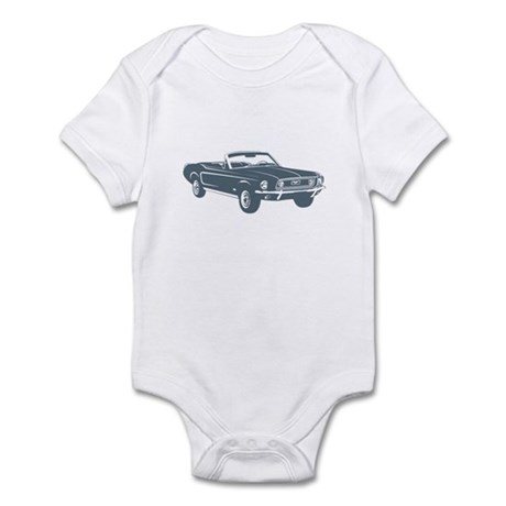1967 Ford Mustang Convertible Infant Bodysuit