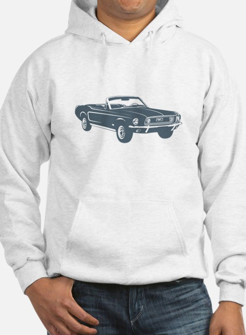 1967 Ford Mustang Convertible Hoodie