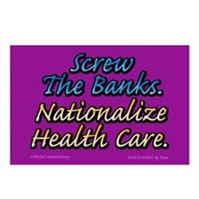 Cute Health care crisis Postcards (Package of 8)