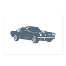 1965 Ford Mustang Fastback Postcards (Package of 8