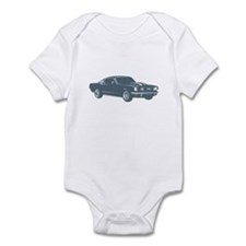 1965 Ford Mustang Fastback Infant Bodysuit