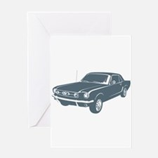 1965 Ford Mustang Coupe Greeting Card