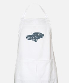 1965 Ford Mustang Coupe BBQ Apron