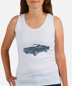 1965 Ford Mustang Convertible Women's Tank Top