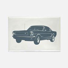1964 Ford Mustang Fastback Rectangle Magnet