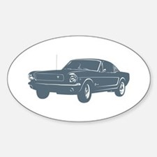 1964 Ford Mustang Fastback Oval Decal