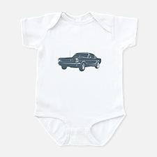 1964 Ford Mustang Fastback Infant Bodysuit