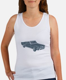 1964 Ford Mustang Convertible Women's Tank Top