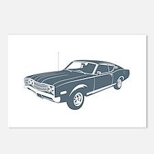 1968 Mercury Cyclone 428 Postcards (Package of 8)