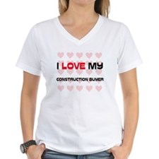 I Love My Construction Buyer Shirt