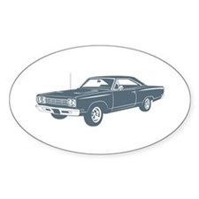 1969 Plymouth Roadrunner Oval Decal
