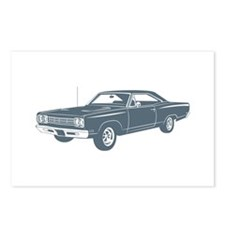 1969 Plymouth Roadrunner Postcards (Package of 8)