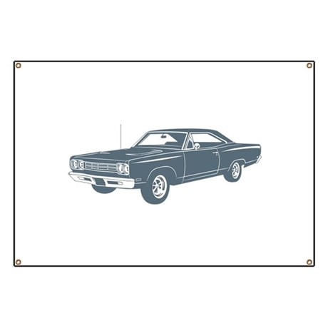 1969 Plymouth Roadrunner Banner
