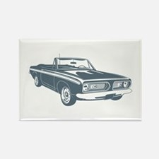 1967 Plymouth Barracuda Rectangle Magnet