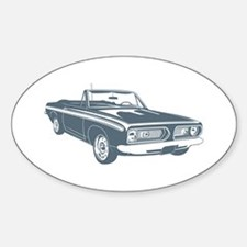 1967 Plymouth Barracuda Oval Decal