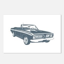 1967 Plymouth Barracuda Postcards (Package of 8)