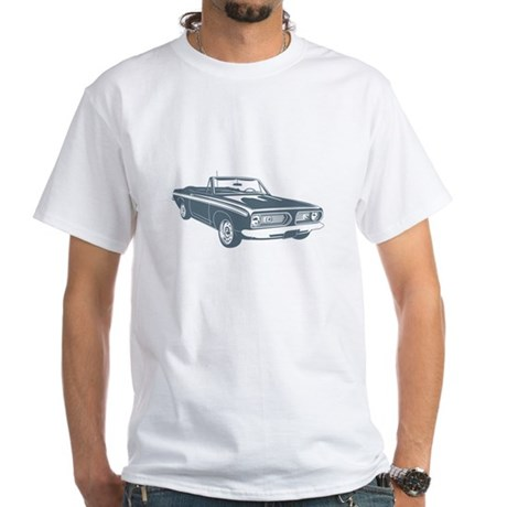 1967 Plymouth Barracuda White T-Shirt