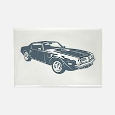 1974 Pontiac Firebird 455 Tra Rectangle Magnet