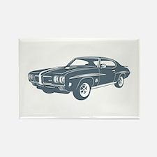 1970 Pontiac GTO 455 JUDGE Rectangle Magnet