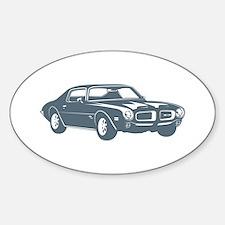 1970 Pontiac Firebird 400 Ram Oval Decal