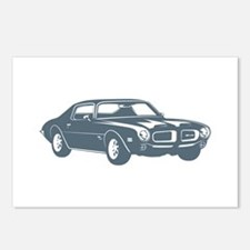 1970 Pontiac Firebird 400 Ram Postcards (Package o