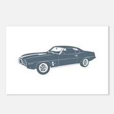 1969 Pontiac Firebird Postcards (Package of 8)