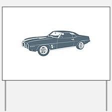 1969 Pontiac Firebird Yard Sign