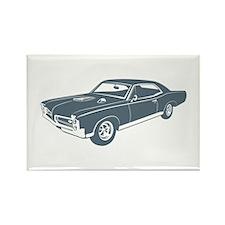 1967 Pontiac GTO Rectangle Magnet