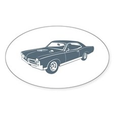 1967 Pontiac GTO Oval Decal
