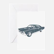 1967 Pontiac GTO Greeting Cards (Pk of 10)