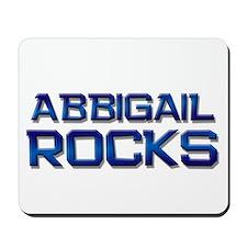 abbigail rocks Mousepad
