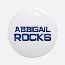 abbigail rocks Ornament (Round)