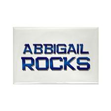 abbigail rocks Rectangle Magnet (10 pack)