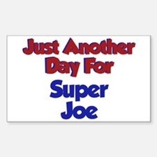 Joe - Another Day Rectangle Decal