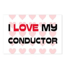 I Love My Conductor Postcards (Package of 8)