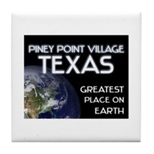 piney point village texas - greatest place on eart