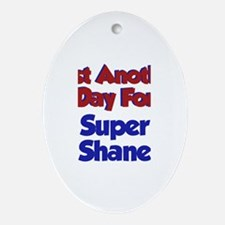 Shane - Another Day Oval Ornament