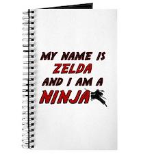 my name is zelda and i am a ninja Journal