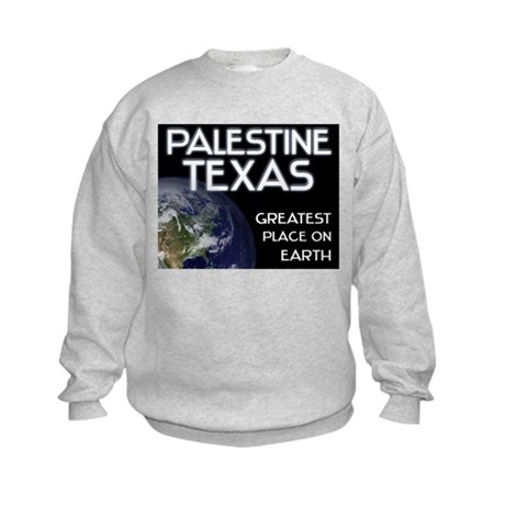 palestine texas - greatest place on earth Kids Swe