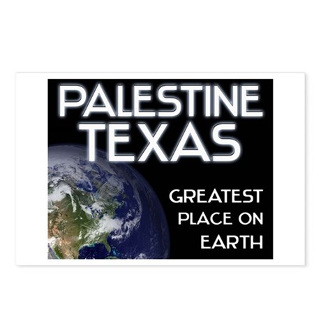 palestine texas - greatest place on earth Postcard