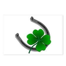 St. Patrick's Lucky Postcards Package of 8