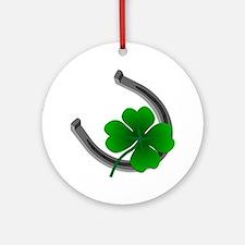 St. Patrick's Lucky Ornament (Oval) Irish Keepsake