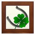 St. Patrick's Lucky Framed Tile