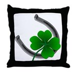St. Patrick's Lucky Throw Pillow