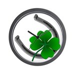 St. Patrick's Lucky Wall Clock