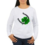 St. Patrick's Lucky Women's Long Sleeve T-Shirt