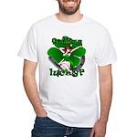 Sexy Irish Pinup Girl White T-Shirt