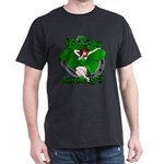 Sexy Irish Pinup Girl Dark T-Shirt