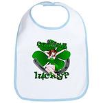 Irish Luck Pinup Girl Lucky Baby Bibs & Gifts