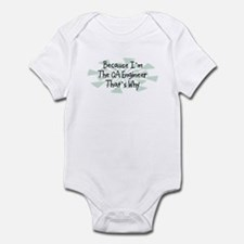 Because QA Engineer Infant Bodysuit
